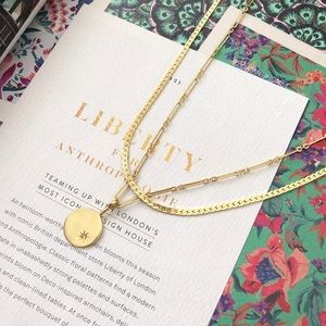 Madewell Starsign Layered Necklace